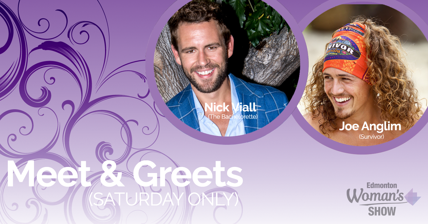 Private meet greets with joe anglim and nick viall edmonton meet greets m4hsunfo