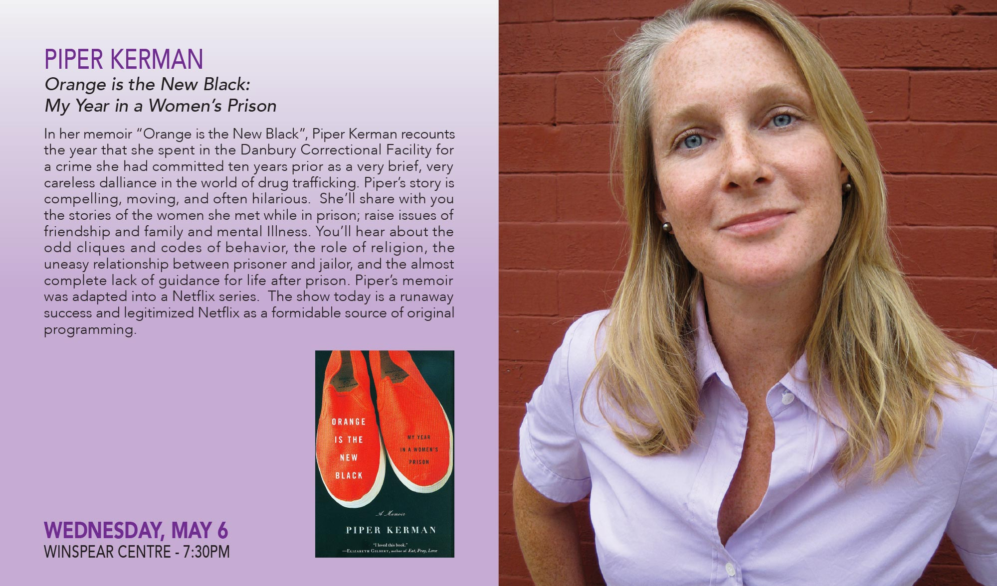 piper kerman biography